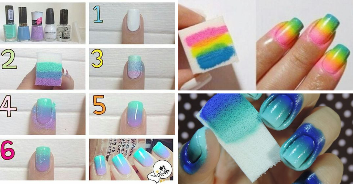 DIY Ombre Nails At Home (Video)