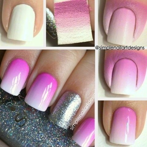 DIY ombre nails 3