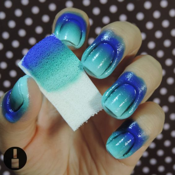 DIY ombre nails 4