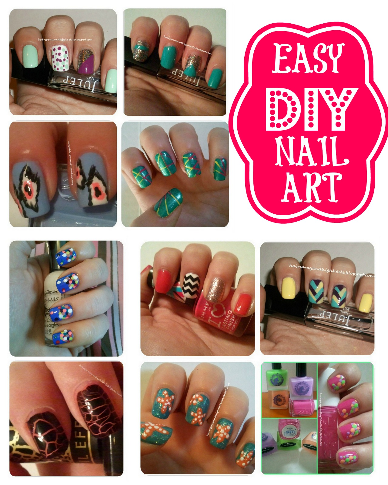 Easy DIY Nail Art