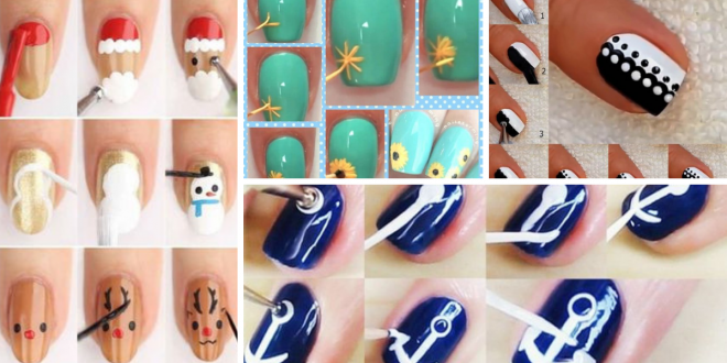Easy Nail Art Ideas And Tutorials