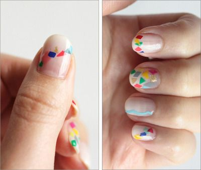 Easy Triangle Nail 6