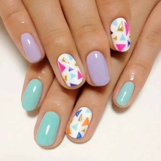 Easy Triangle Nail 7
