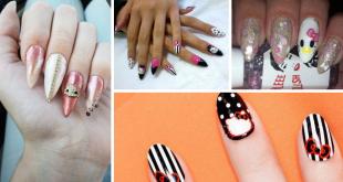 Hello Kitty Stiletto Nail