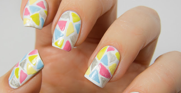 Mosaic Nails Ideas