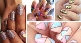 Mosaic Simple Easy Nail