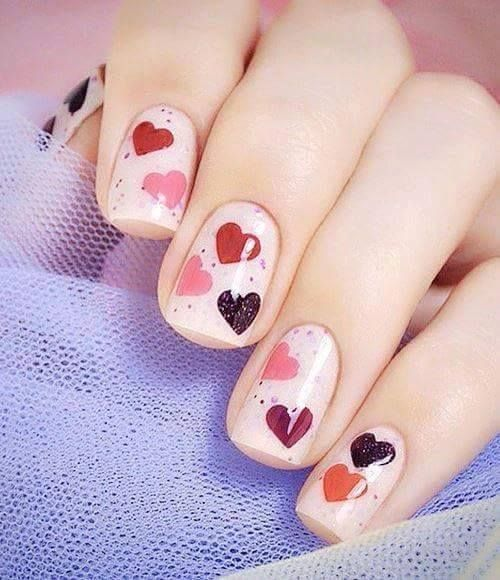 Nails Pin Up Style 11