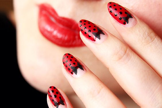 Nails Pin Up Style 8