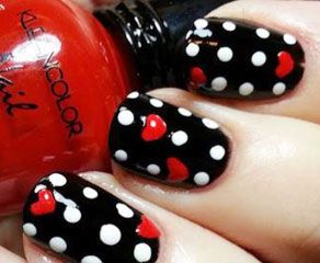 Nails Pin Up Style 9