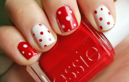 Nails Pin Up Style