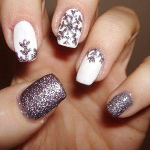 Snowflake Nail 2