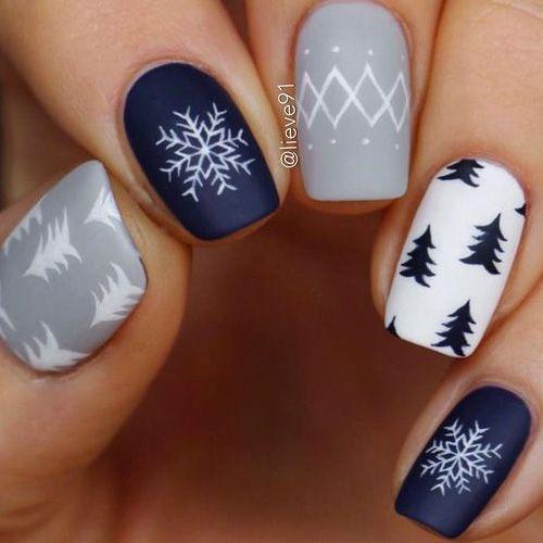 Snowflake Nail 5