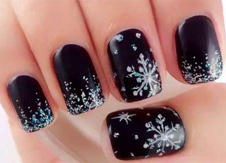 Snowflake Nail 6