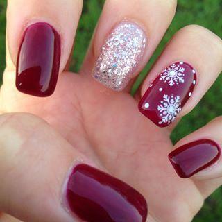Snowflake Nail 8
