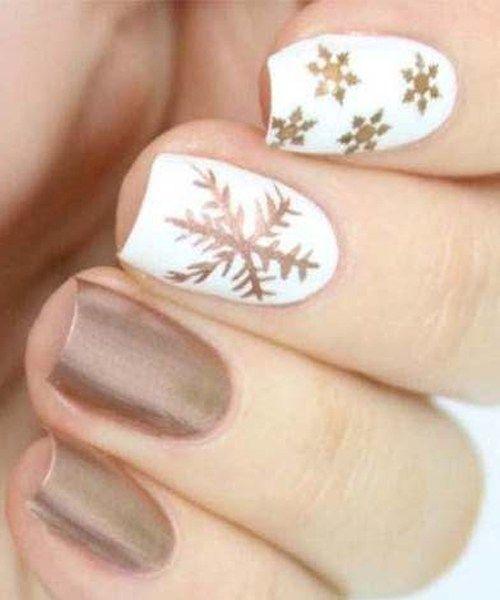 Snowflake Nail 9