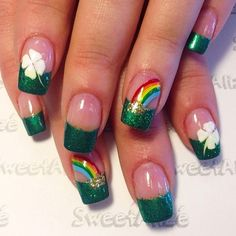 St Patrick Day NAils Ideas 10