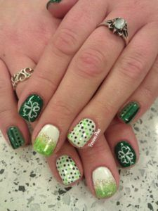 St Patrick Day NAils Ideas 2