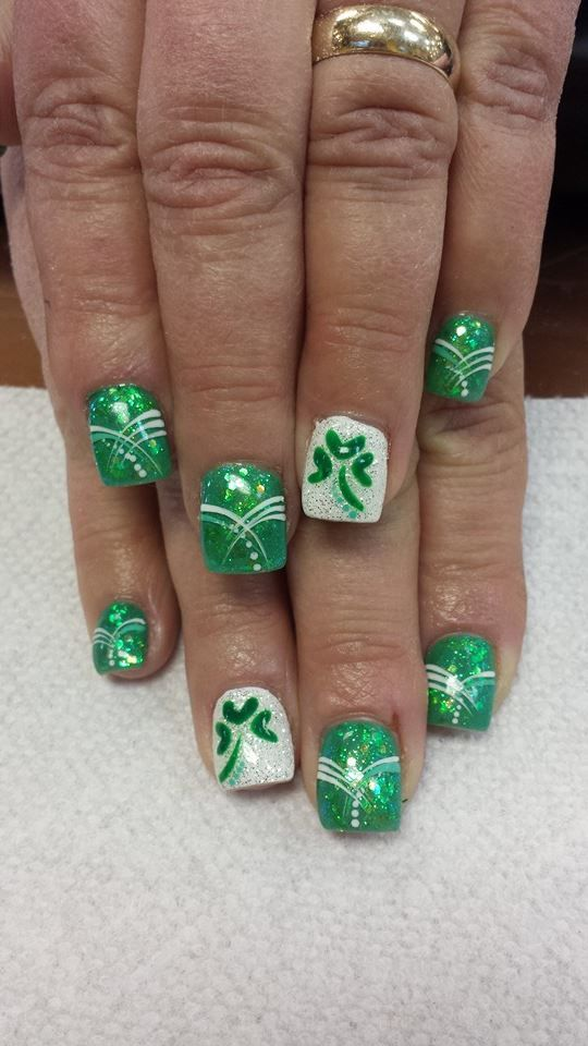 St Patrick Day NAils Ideas 4