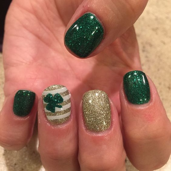 St Patrick Day NAils Ideas