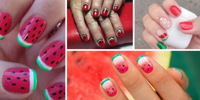 Watermelon Nail Ideas