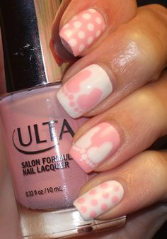 baby shower nails ideas 2