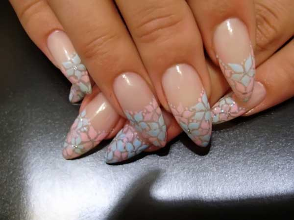 beautiful acrylic nails art