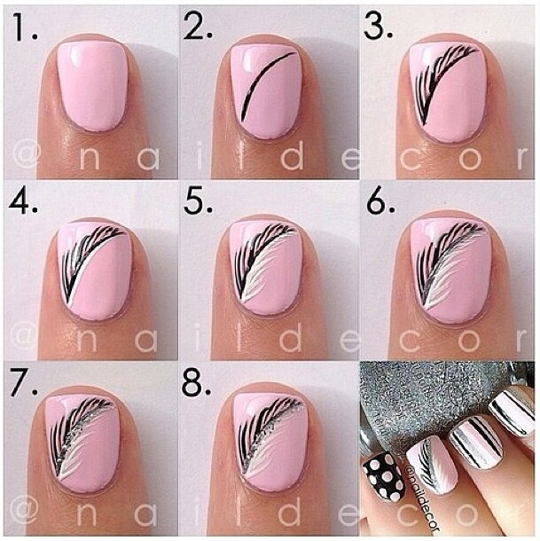Easy nail designs Nail design ideas to do at home