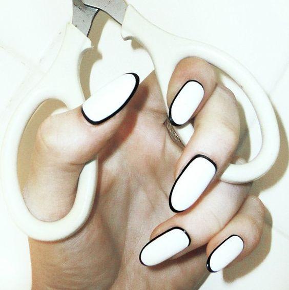 border nail ideas tutorial