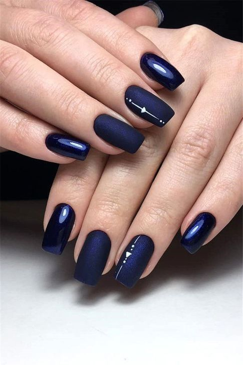 decorated nail ideas blue 10