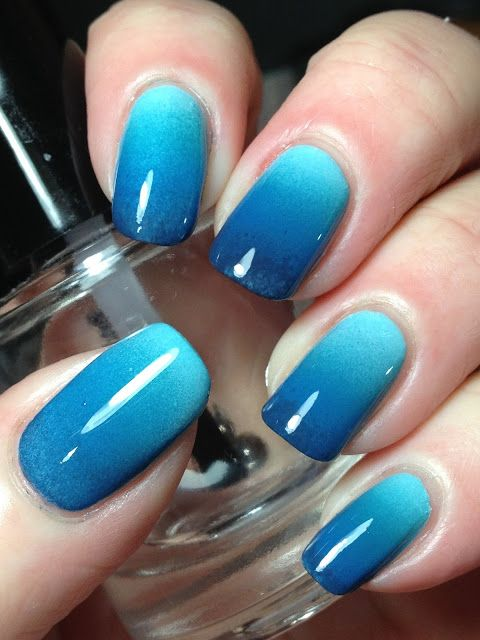 decorated nail ideas blue 5