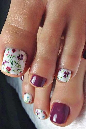 decorated toenails ideas 13