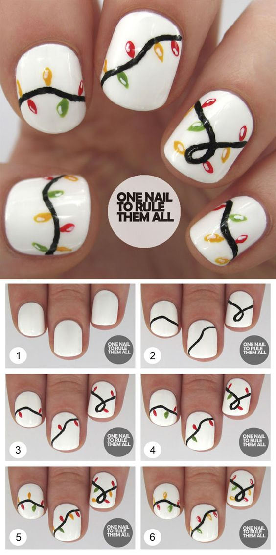 diy christmas nails 2