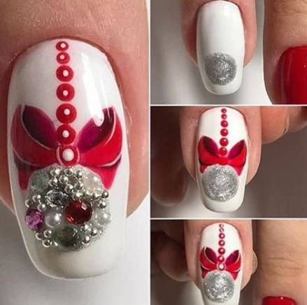 diy christmas nails 4
