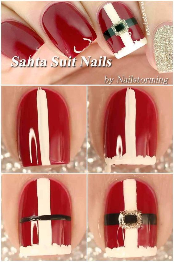 diy christmas nails 5