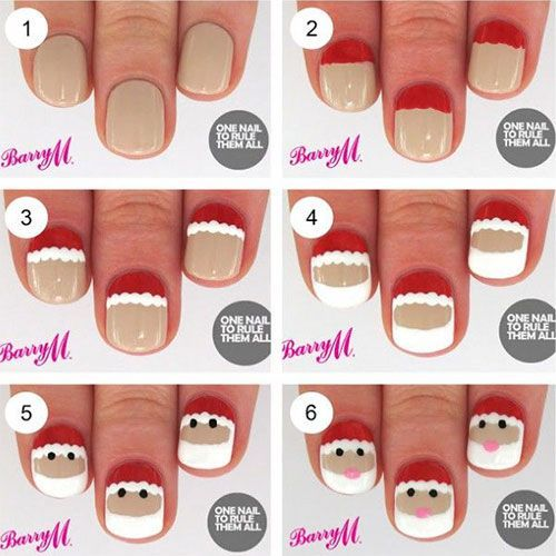 diy christmas nails 6