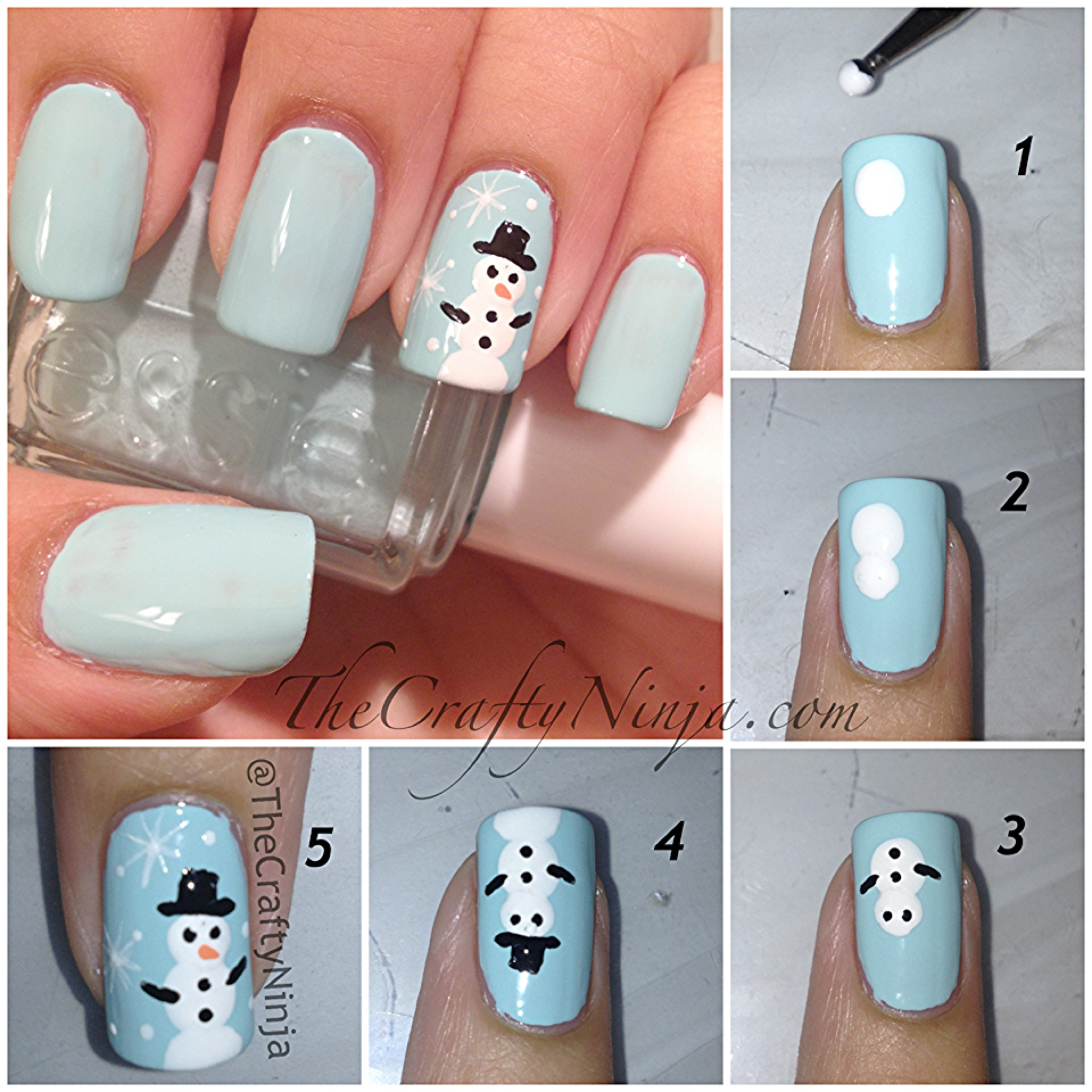 diy christmas nails 8