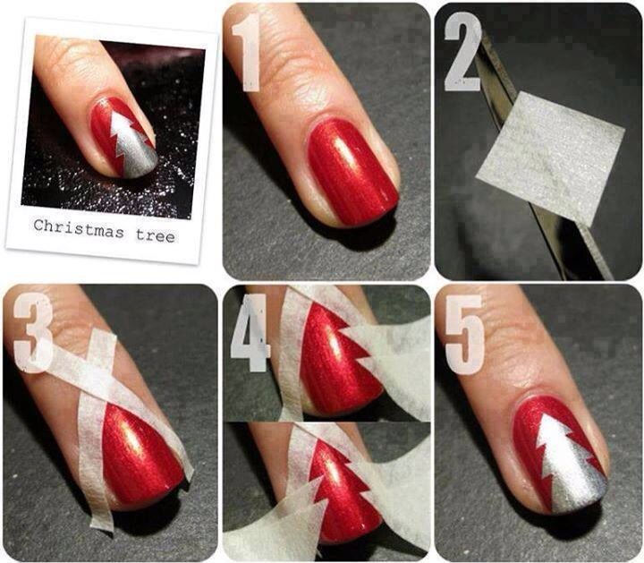 diy christmas nails 9