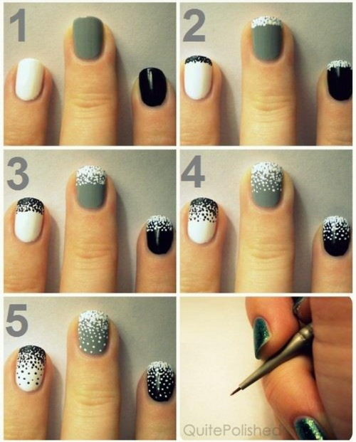 Nail Art Simple Step By Step: Easy Nail Designs