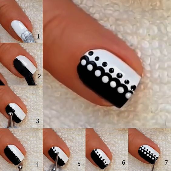 easy nail ideas tutorials 5