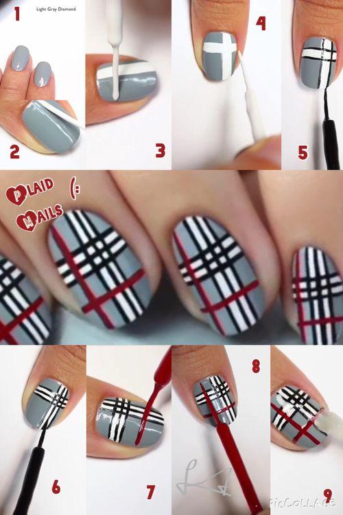 easy nail ideas tutorials 7