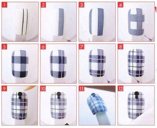 easy nail ideas tutorials 8