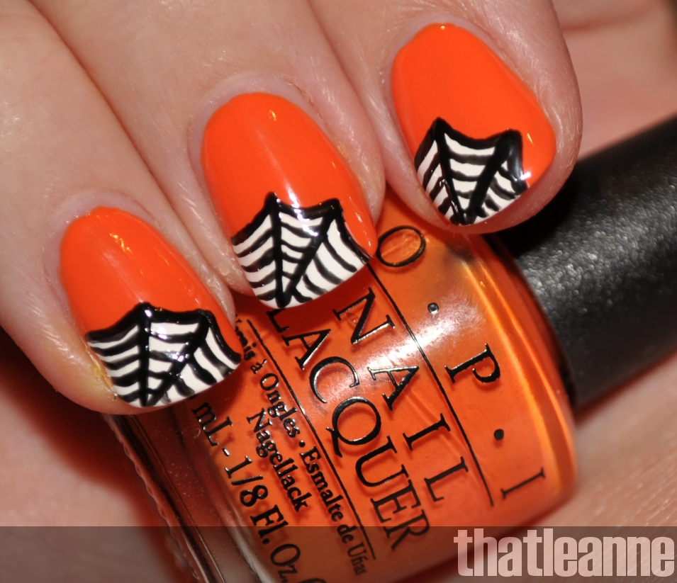 favorable halloween nail art designs