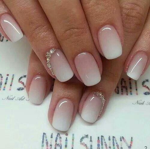 gradient nails bride 1