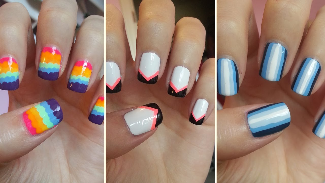 how to do nail art designs