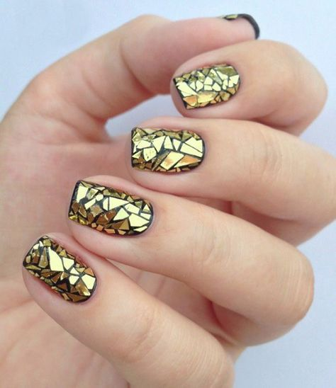 mosaic nails ideas 2