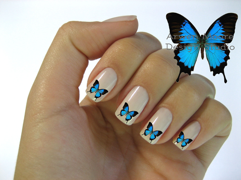 nail-art-butterfly