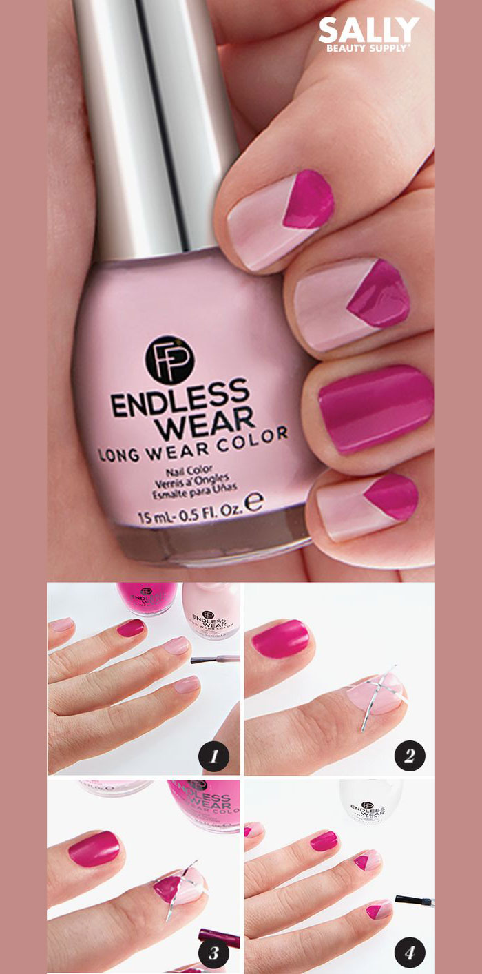 nail art ideas pink