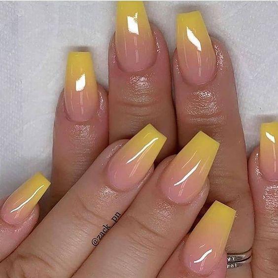 ombre nail ideas 7