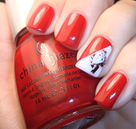 pinup nails art