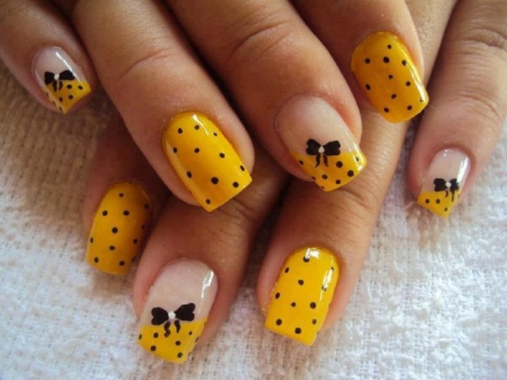 polka dot nail ideas 1